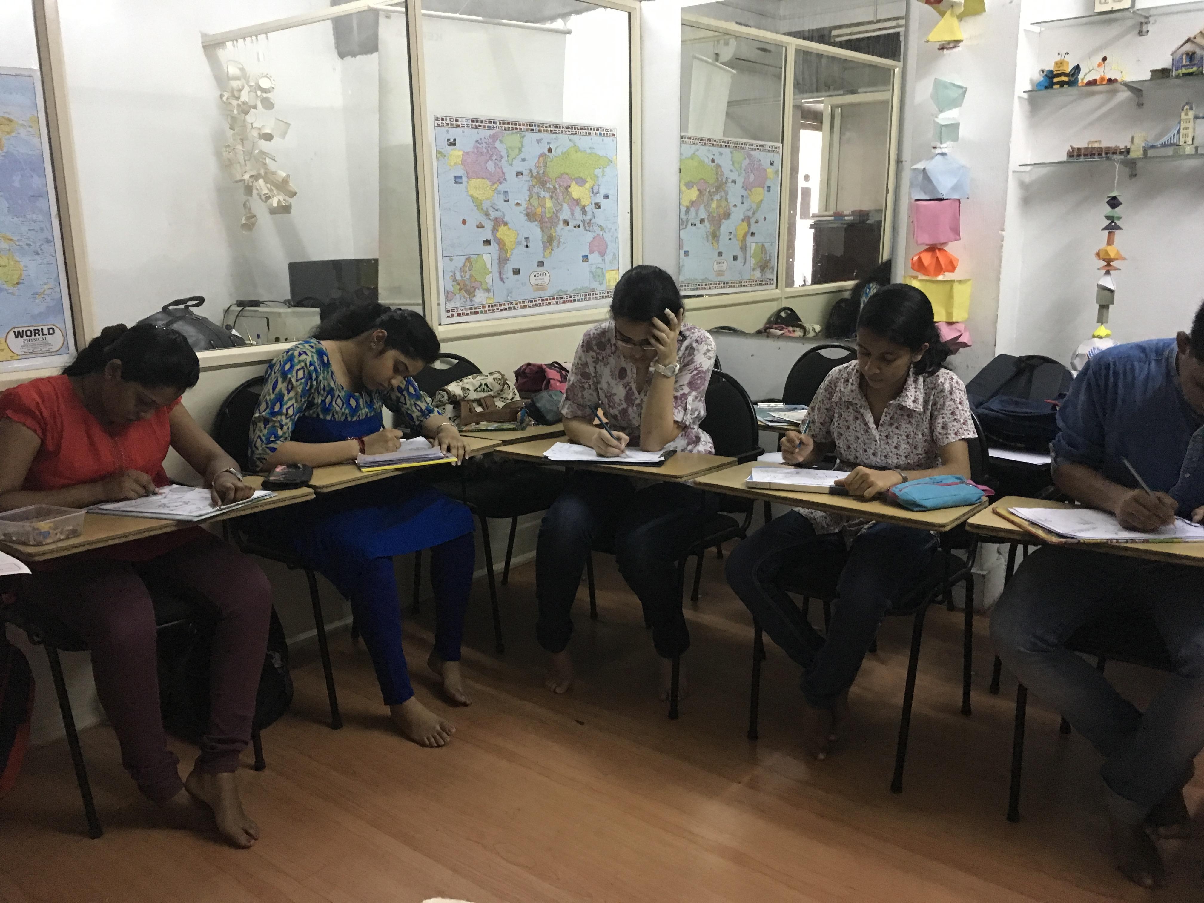 NATA 2017 Class In Progress At Aluva Centre